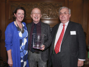 Oz Clarke EWP Communicator of the Year JTE & SR