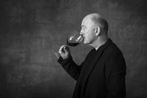Oz Clarke Portrait Photograph by Simon Buck 2015